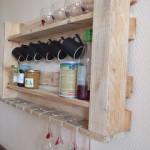 Étagère de cuisine pour nos meubles de palettes