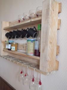 Étagère de cuisine pour nos meubles de palettes3