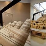 Comment construire un escalier avec des palettes