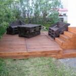 Faire une terrasse en bois avec des palettes