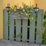 Faites une barrière avec palettes recyclées