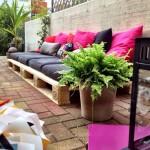 Comment construire un lounge pour le jardin avec des palettes en bois
