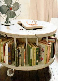 Construire une table avec une bobine en bois4