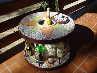 Construire une table avec une bobine en bois9
