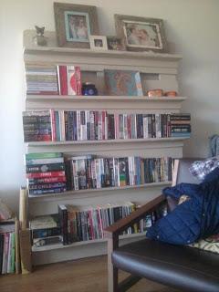 Erstellen Sie eine DIY Paletten Bücherschränke