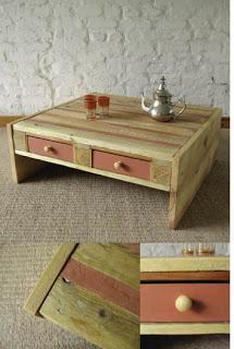 Faire une table basse avec palettes en bois