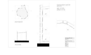 Conception architecturale dun temple faite avec des palettes7