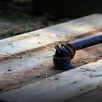 Couvercle pour votre puits faite de palettes en bois