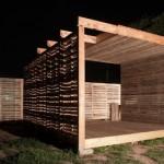 Meubles de palettes: centre de production agricole intégré de palettes en bois recyclées