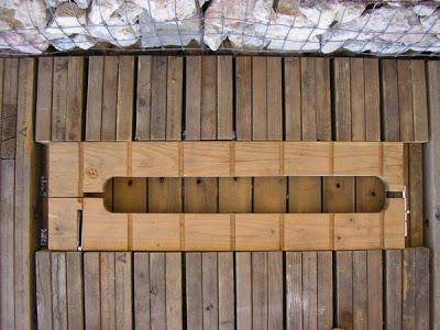 DIY Pallet Möbel Landwirtschaftliche Produktion Zentrum von recycelten Holzpaletten gebaut11
