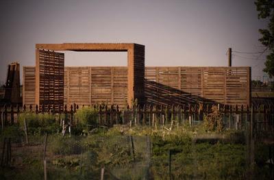 DIY Pallet Möbel Landwirtschaftliche Produktion Zentrum von recycelten Holzpaletten gebaut7