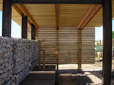 DIY Pallet Möbel Landwirtschaftliche Produktion Zentrum von recycelten Holzpaletten gebaut9