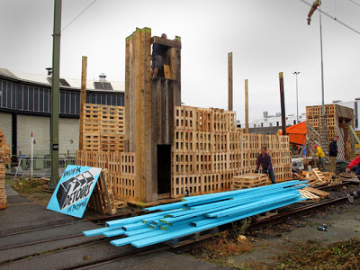 Factory built for the huttenfestival.ne2