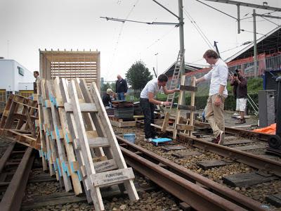 Factory built for the huttenfestival.ne9