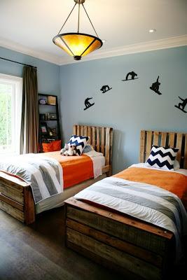 Lits de palettes pour votre chambre à coucher
