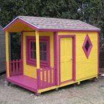 Maison de jeu pour vos enfants faites de palettes en bois