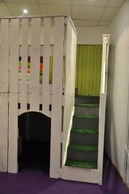 Maison de jeu pour vos enfants faites de palettes en bois 2-5