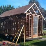 Des plans pour construire une petite maison avec des - Construire sa maison en palette ...