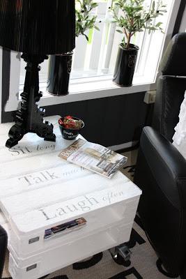 Table basse faite de palettes2