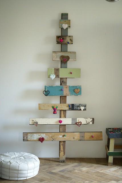 Arbre de Noël avec des palettes3
