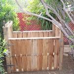 Composteur faite avec des palettes en bois