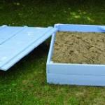 Construire avec des palettes un d p t de poubellemeuble en - Construire avec des palettes ...