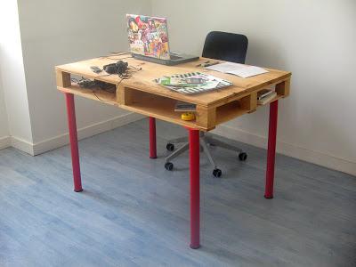 Bureaux de bureau pour nos meubles de palettes