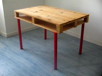 Bureaux de bureau pour nos meubles de palettesmeuble en palette meuble en p - Construire un bureau ...