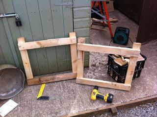 Comment faire un planteur de plein air avec des palettes en bois3