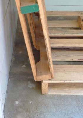 construire un parking v los sur votre porche avec des palettesmeuble en palette meuble en. Black Bedroom Furniture Sets. Home Design Ideas