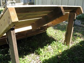 Construire un transat ( chaise longue ) pour votre jardin avec des palettes6