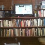 Construction De Biblioth Que Avec Des Palettes En Boismeuble En Palette Meuble En Palette