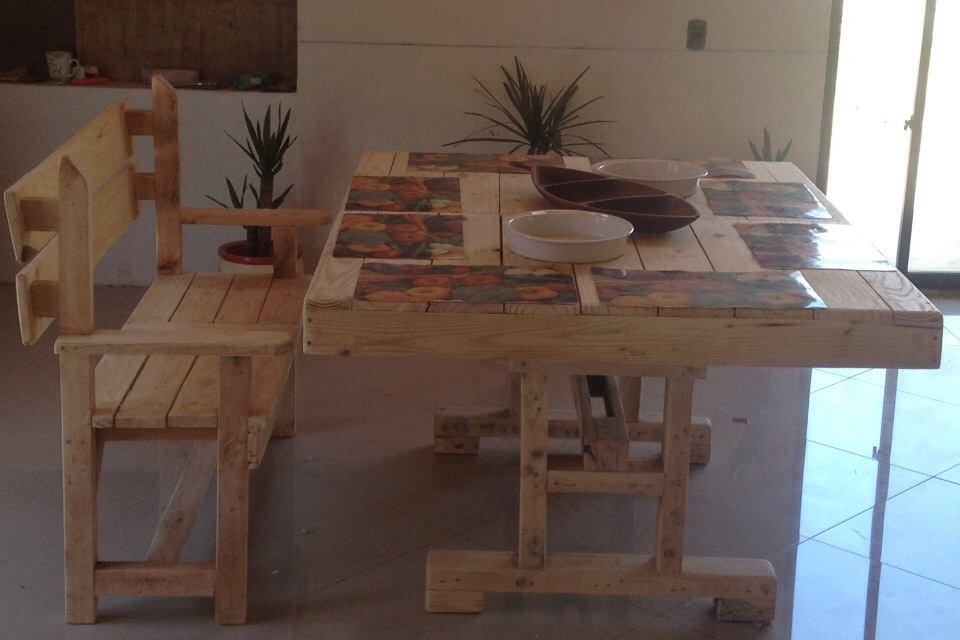 decoy construcci n meubles avec des palettes. Black Bedroom Furniture Sets. Home Design Ideas