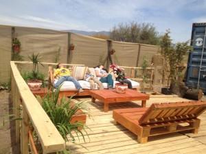 Decoy construcción meubles avec des palettes recyclées7