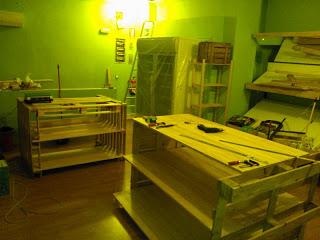 Eco Boutique toute meublé avec des meubles en palettes3