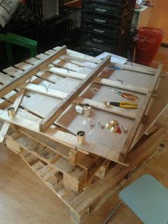 Eco Boutique toute meublé avec des meubles en palettes6
