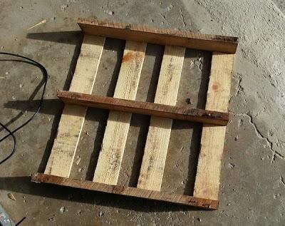 Faites votre propre traîneau avec une palette en bois3