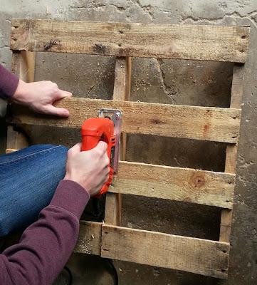Faites votre propre traîneau avec une palette en bois4