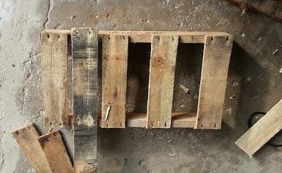 Faites votre propre traîneau avec une palette en bois5