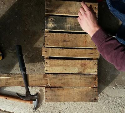 Faites votre propre traîneau avec une palette en bois6