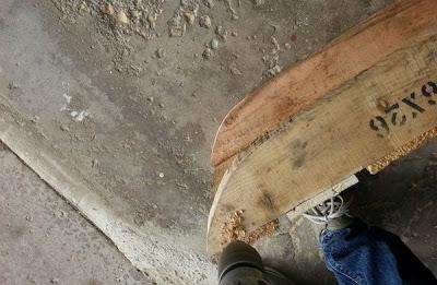 Faites votre propre traîneau avec une palette en bois7