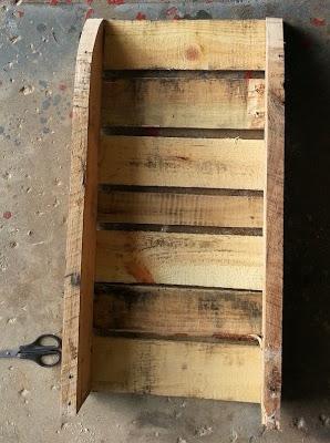 Faites votre propre traîneau avec une palette en bois8