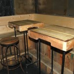 Mobilier de restaurant faite de palettes ( 2 de 2)