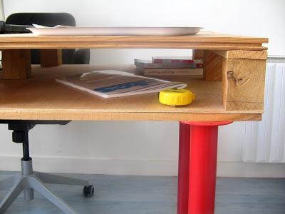 Mobilier de style IKEA faite avec des palettes2