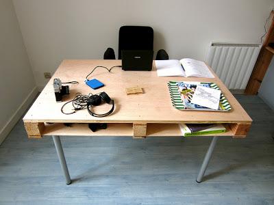 Mobilier de style IKEA faite avec des palettes3