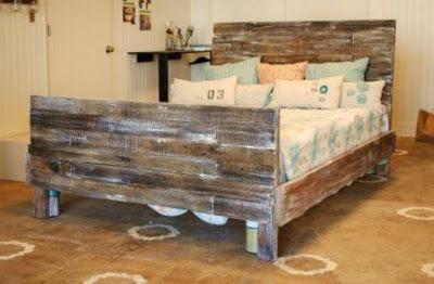 Pas cher chambre pour les enfants faite avec des - Fabriquer des meubles avec des palettes ...