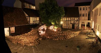 Pavillon faite de palettes par les étudiants de l'École d'architecture d'Aarhus5
