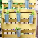 Petit jardin vertical pour qui ont peu d'espace dans leur jardin ou terrasse
