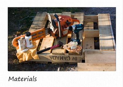 Petites étagères rustiques faites de palettes en bois recyclées2