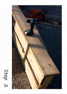 Petites étagères rustiques faites de palettes en bois recyclées4